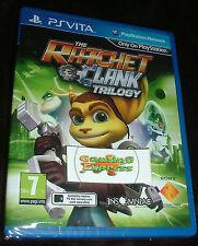 Ratchet and Clank Trilogy Playstation Vita PSVita NEW SEALED