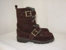 POLO BY RALPH LAUREN Petites Bottes / Bottines daim marron P.25,5
