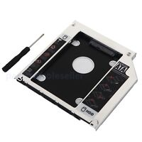 2nd HDD SSD Hard Drive SATA Case Module Caddy for Macbook Pro Late 2008 Swap ODD