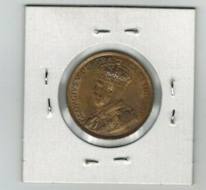 1915 LARGE PENNY 1 CENT NICE RED CANADA MS-63!!!