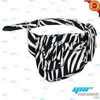 YNR White Zebra Ninja Hairdressing Scissors Pouch Holster Case Wallet Salon Spa