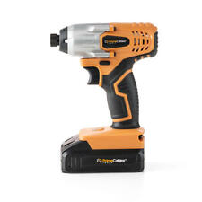 PrimeCables® 20V Cordless Impact Driver w/ Soft Grip Handle set +Charger&Battery