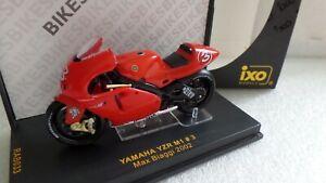 Bike - Yamaha YZR-M1 #3 - Max Biaggi 2002 - IXO 1:24 scale RAB033