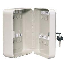 Armario De Claves Seguro Estuche Caja 20 llaves de bloqueo de seguridad de Almacenamiento Ganchos de metal caso nuevo