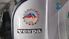 PLACCA VESPA CORTINA D'AMPEZZO EUROVESPA 1963 PLAKETTE PIAGGIO ITALY CLUB