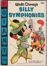 WALT DISNEY'S SILLY SYMPHONIES #6, DELL GIANT 1956, VF-/VF CONDITION