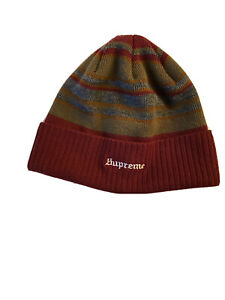 Supreme Beanie - Green, Red, Black - 100% Authentic - FAST SHIPPING!