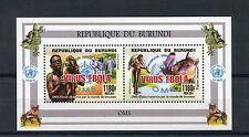Burundian Sheet Medical & Red Cross Postal Stamps