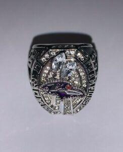 2012 Baltimore Ravens Championship Replica Super Bowl Souvenir Ring Size 11