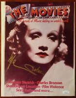 Marlene Dietrich Jsa Coa Hand Signed 11x14 Photo Authentic Autograph