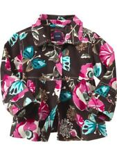 Baby Gap Chelsea Girls Floral Butterfly Jacket Boho Corduroy Lined Size 3 Nwt