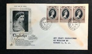 Gold Coast 1953 Coronation FDC First Day cover