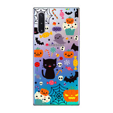 Funda gel transparente dibujo Halloween 1 para Samsung Galaxy NOTE 10 plus