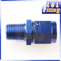 """AN-6 -6AN AN6  Female Swivel to Male 1/4"""" NPT Straight Aluminum Adapter Fitting"""