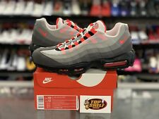 DS New Nike air Max 95 OG Solar Red Size 10.5 Retro VTG Authentic Trainer