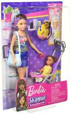 NEW Barbie Skipper Babysitters Inc Doll and Stroller Playset