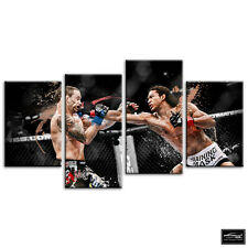 More details for mma benson henderson  sports box framed canvas art picture hdr 280gsm