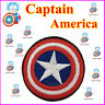 Super Hero DIY Captain America Embroidered Patch Applique Badge Iron on Sew
