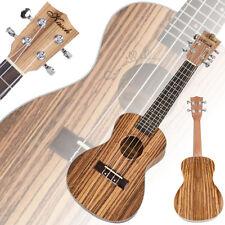 "New 23"" MUH-506 Exquisite Zebra Wood Concert Ukulele Musical Instrument Guitar"