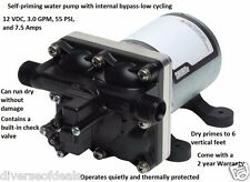 Quiet Revolution Water Pump For RV Camper Travel Trailer Motor Home Can Run Dry