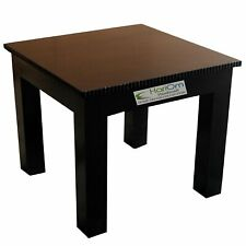 Sheesham Wooden Stool for Kitchen Wooden Small Home Walnut Black