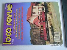 **ac Loco Revue n°494 le module signal SNCF / Salon du modélisme 1987