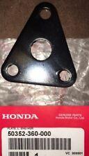 PLATE, LEFT ENGINE HANGER; OEM HONDA NOS P/N 50352-360-000 FITS 74-78 CR125M