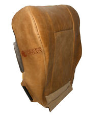 2002 Ford F150 King Ranch SuperCrew F-150 Driver Side Bottom Leather Seat Cover