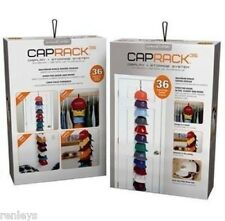 PerfectCurve CapRack 36 Baseball Cap Baseball Hat Holder Rack Organizer Storage