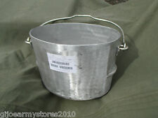 NEW 3 Gallon Dixie Cook Pot Bushcraft Wild Camping Water Boiling HEAVY DUTY