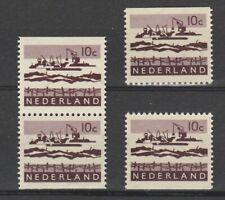 Nederland Stockkaart Combinaties uit Postzegelboekjes 5 Postfris