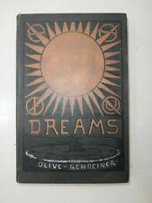 Antico Libro Dreams 1903 Olive Schreiner