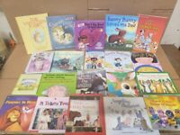Lot of 10 BOOKS FOR GIRLS Learn to Read Picture Kids Children Library RANDOM MIX