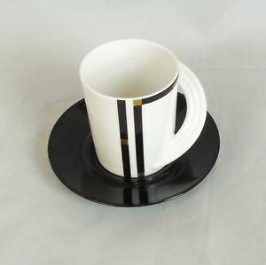 Cupola Nera v. Rosenthal , Kaffeetasse + Untertasse (194)