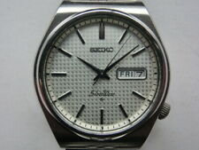 Seiko Men's Watch Silver Wave Automatic Automatic 6306 Silver Color