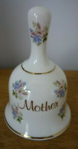 Fenton  China Company Bone China Bell 'Mother' flowers and butterfly