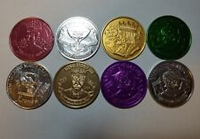 Doubloons, 7 2006, 1 2005 8 Coins Total New Orleans Mardi Gras Doubloons 62-0