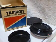 TAMRON ADAPTALL CUSTOM MOUNT KONICA T3 TC SERIES mint BOXED OLD STOCK