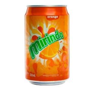 MIRINDA ORANGE  24 X330ML Sparkling Orange Drink