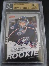 Steve Mason 2008-09 Upper Deck Victory Rookie BGS 9.5 Gem Mint Blue Jackets