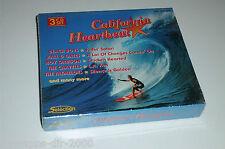 California Heartbeat 3 CD 's NOUVEAU & OVP avec Beach Boys Hall & Oates Chris Andrews