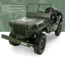 JJRC Q65 1/10 2.4G RC Open Car Military Jeep Off-road 4WD Rock Crawler RTR Toy.