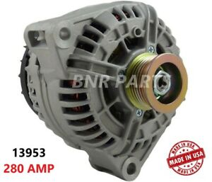 280 AMP 13953 Alternator Mercedes CL CLS E G ML R S SL High Output Performance