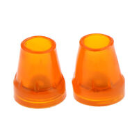 2 Pcs Anti Slip Rubber Tip For Cane Walking Stick Crutches Chair 7/8 inch