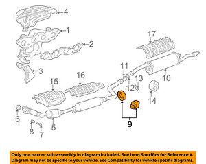 TOYOTA OEM Exhaust-Converter & Pipe Insulator 1756223040