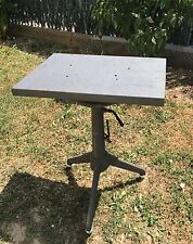 AF441 TABLE INDUSTRIELLE DESSERTE MEUBLE ATELIER TRIPODE METAL DESIGN LOFT