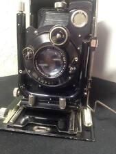 Antique folding German plate camera Compur (Welta ?)