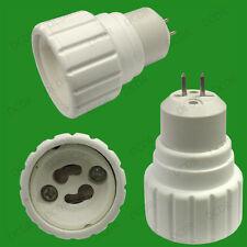 30x Mr16, Gu5.3 A Gu10 Luz Lámpara Base Socket Lámpara Adaptador Convertidor Titular