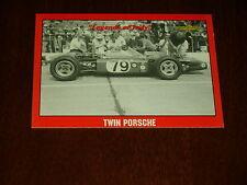 Legends Of Indy 1966 PORSCHE TWIN ENGINE RACE CAR  #94 Collector Card