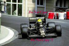 Ayrton Senna JPS Lotus 98T Monaco Grand Prix 1986 Photograph 5